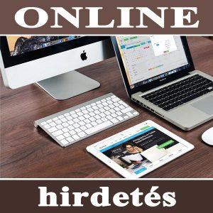 Online hirdetés