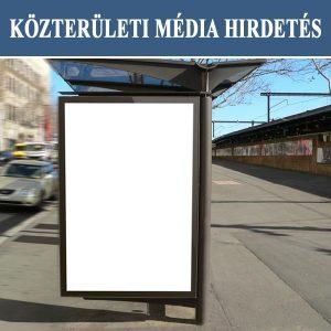 Közterületi média hirdetés