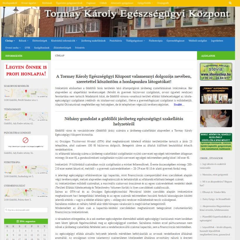 Tormay Károly Egészségügyi Központ