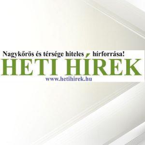 Heti Hírek megjelenés @ Nagykőrös, Abony, Kocsér, Csemő