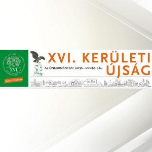 XVI. Kerületi Újság lapzárta